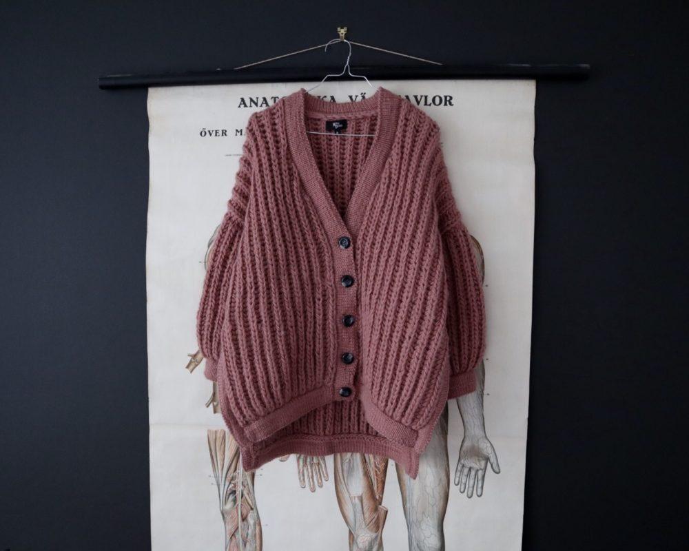 Chunky bomber jacket Witre Design